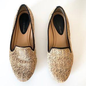 Antonio Melani Animal Print Calf Hair Loafers